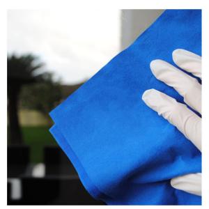 Panno in microfibra vetri zero aloni