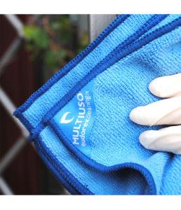 Panno in Microfibra multiuso per tutte le superfici Blu