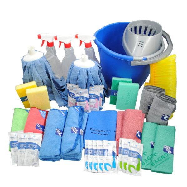 Professional kit 38 pezzi eudorex cleaning - Prodotti per pulire casa ...