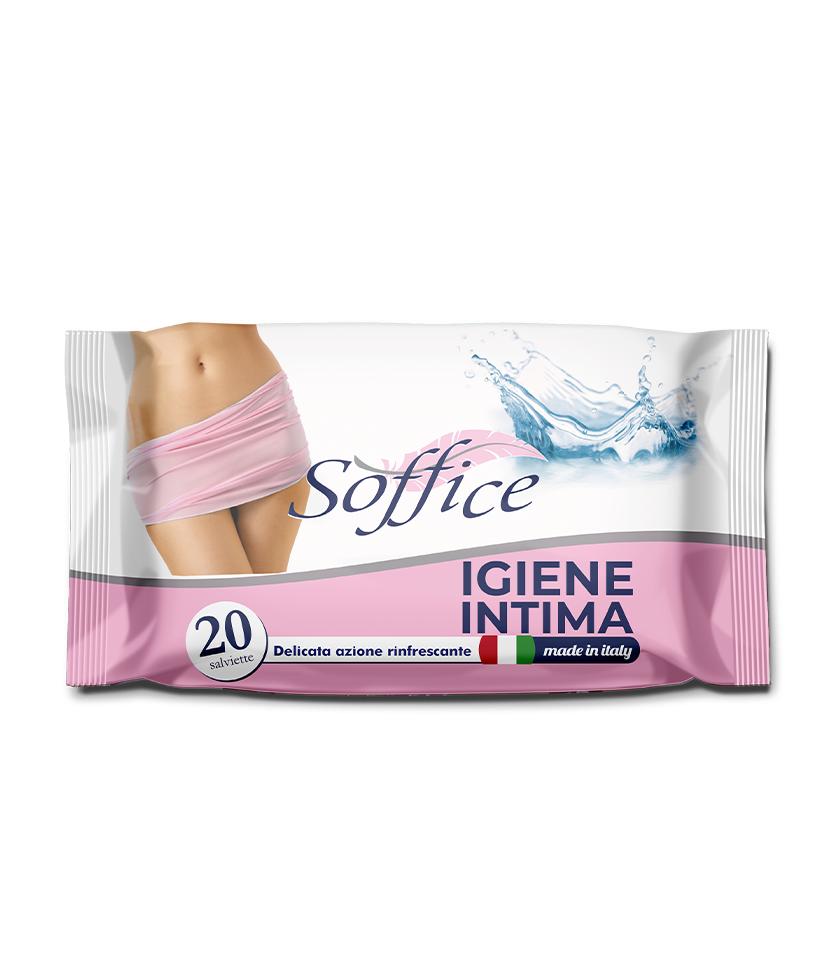 Salviette Intime Igienizzanti – Confezione 20 PZ