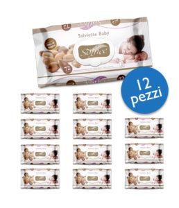 Salviette Bambini Argan Scorta Convenienza – 12 Confezioni
