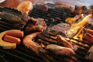 pulire griglia-del-barbecue
