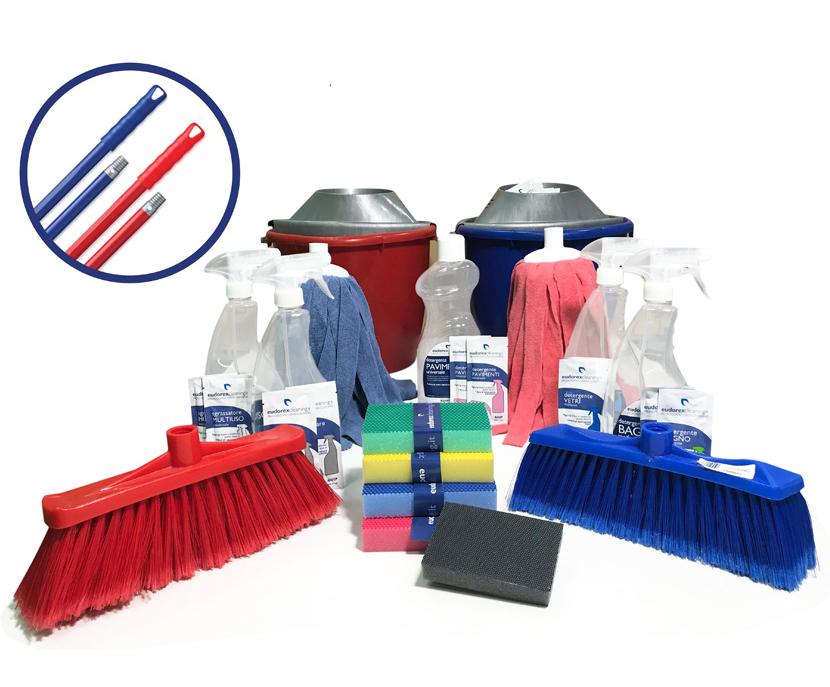 Haccp, il kit di pulizia professionale definitivo