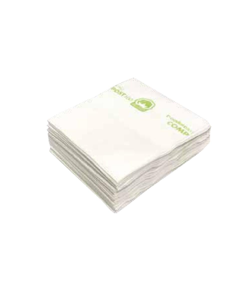 Panno in cotone 100% biodegradabile