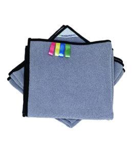 Panno sgrassante in microfibra tessile