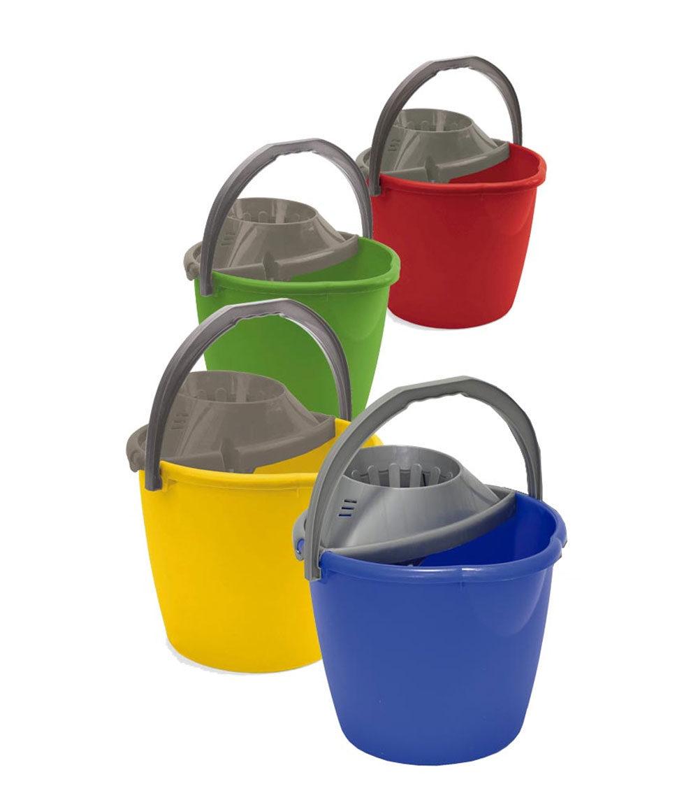 Secchio lavapavimenti con strizzatore – 13L