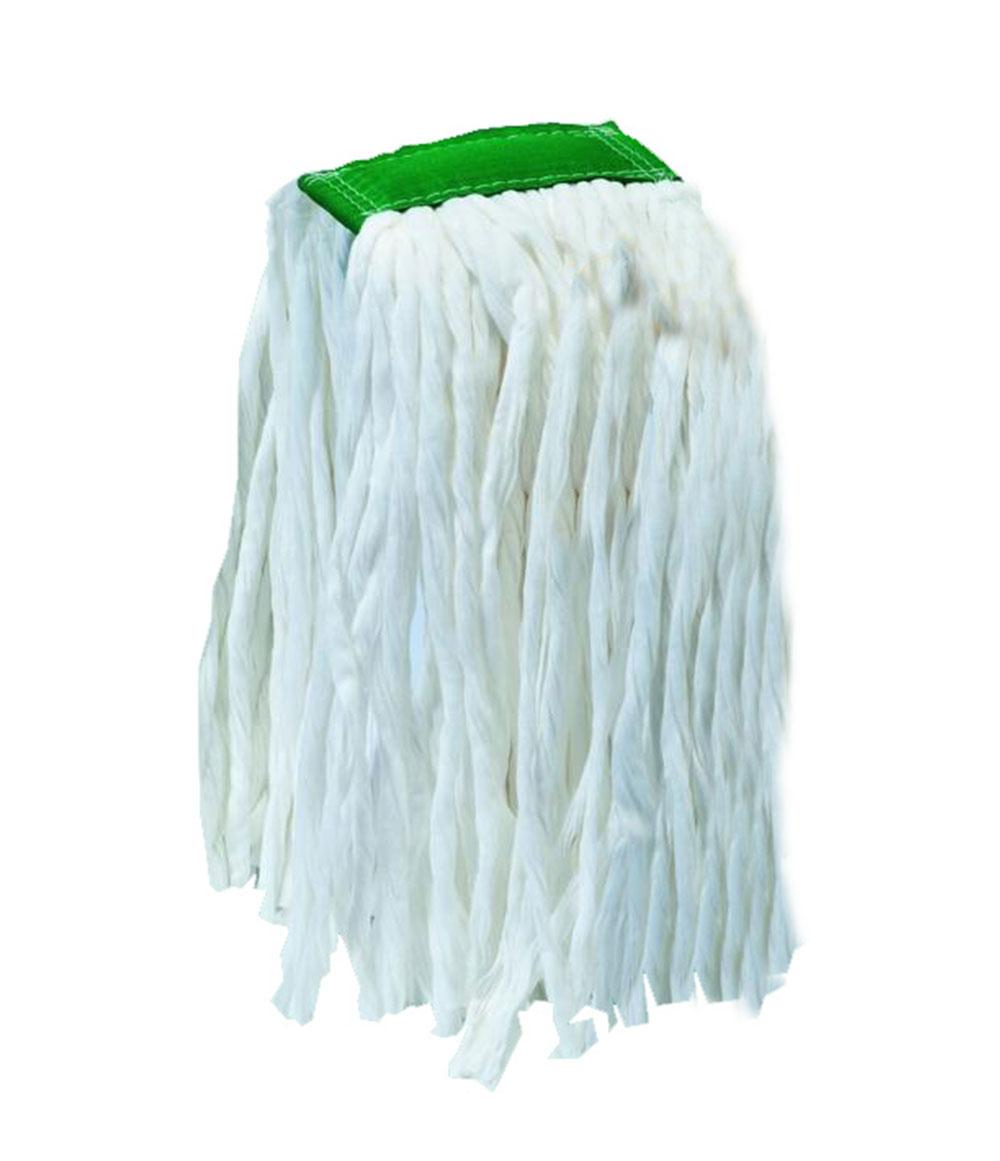 Mocio in viscosa con fascia pinza – verde