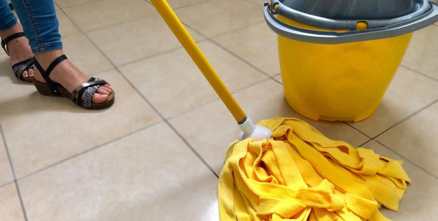 Mocio lavapavimenti professionale: come si usa?
