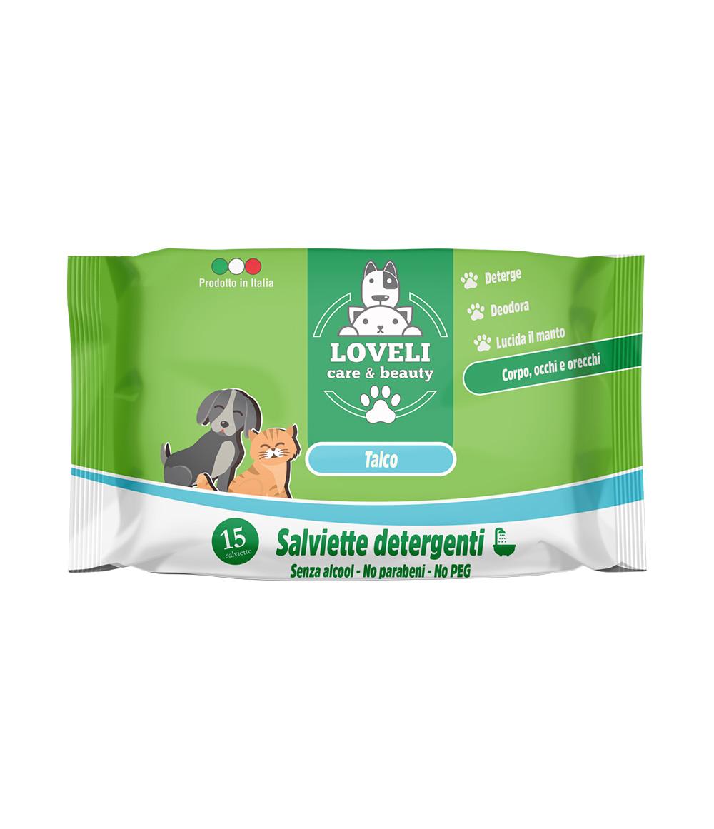 Salviette per cani e gatti – 15pz