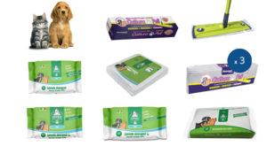 kit prodotti per la pulizia di cani e gatti