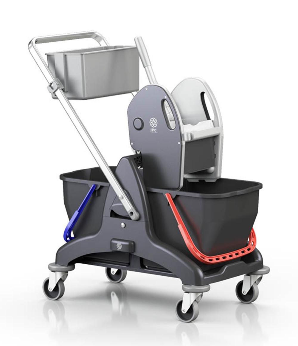 <span class='p-name'>Carrello per pulizia professionale doppia vasca</span>