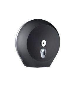 Dispenser portarotolo carta igienica nero