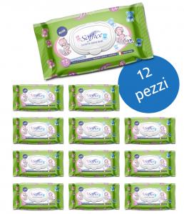 <span class='p-name'>Salviette bambini all'aloe vera Scorta convenienza 12 confezioni</span>
