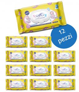 <span class='p-name'>Salviette bambini alla camomilla Scorta convenienza 12 confezioni</span>