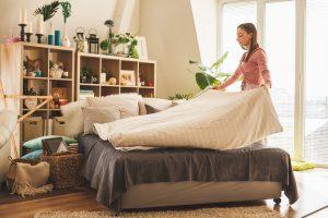 pulire a fondo la camera da letto