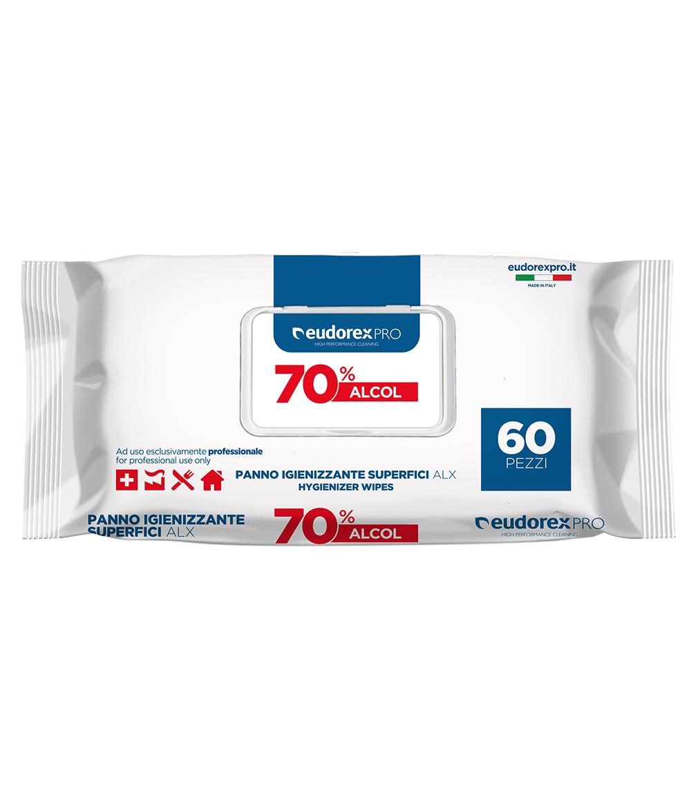 Panno igienizzante superfici ALX 60 pz