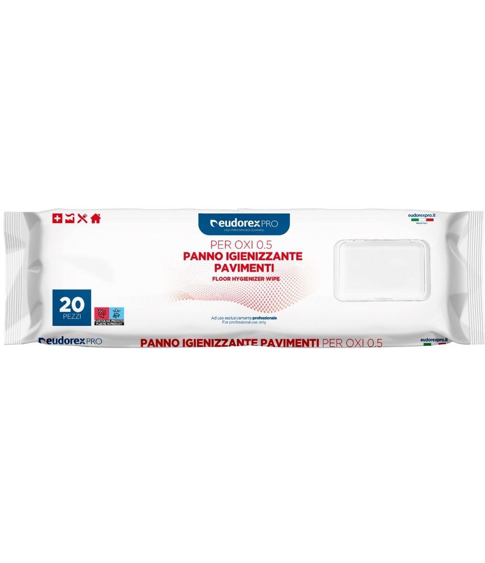 Panno Igienizzante pavimenti per OXI 0.5 20pz