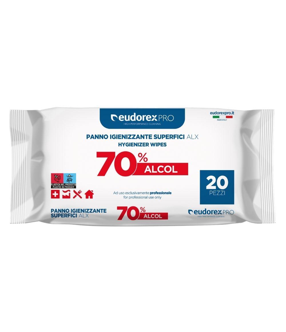Panno igienizzante superfici ALX 20 pz
