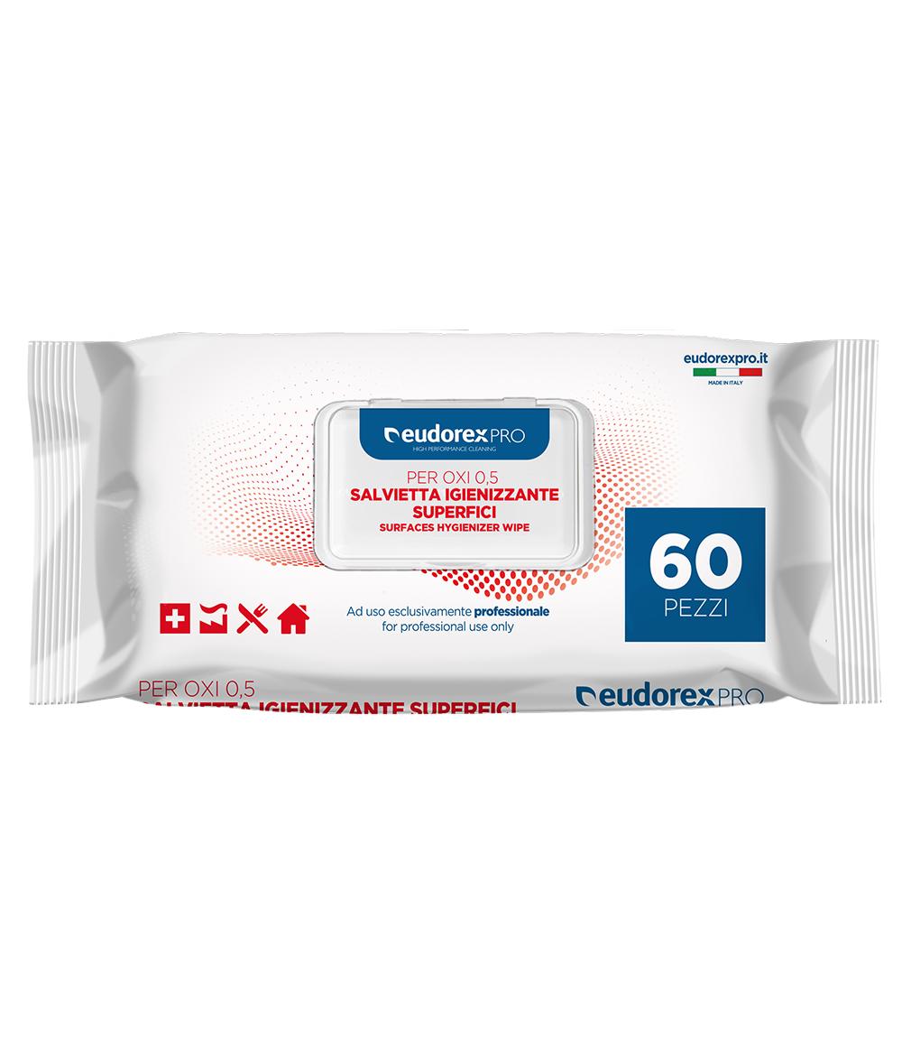Panno Igienizzante superfici per OXI 0.5 60pz