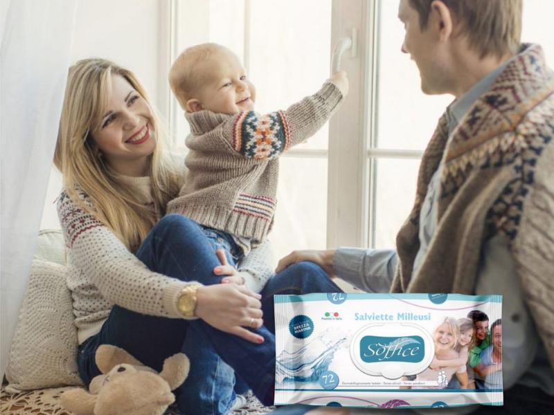 Salviette per neonati, quali usare?